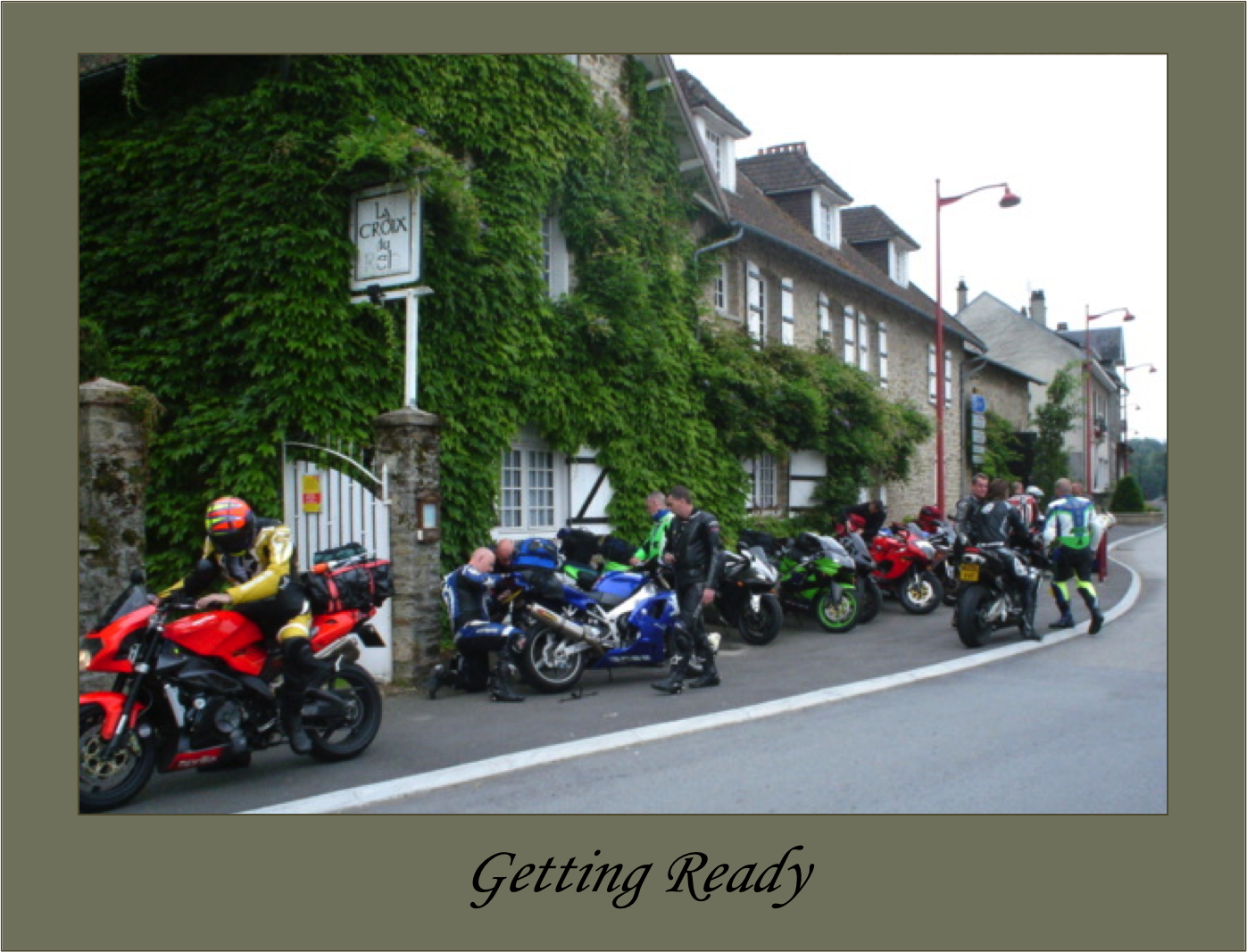 Biker car friendly la croix du reh la croix du reh for Chambre bed and breakfast