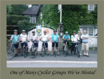 Cyclists B&B France La Croix Du Reh bed and Breakfast Limoges Limousin France Chambres DHotes Gites Holiday Accommodation Guest House Hotel Hostel French