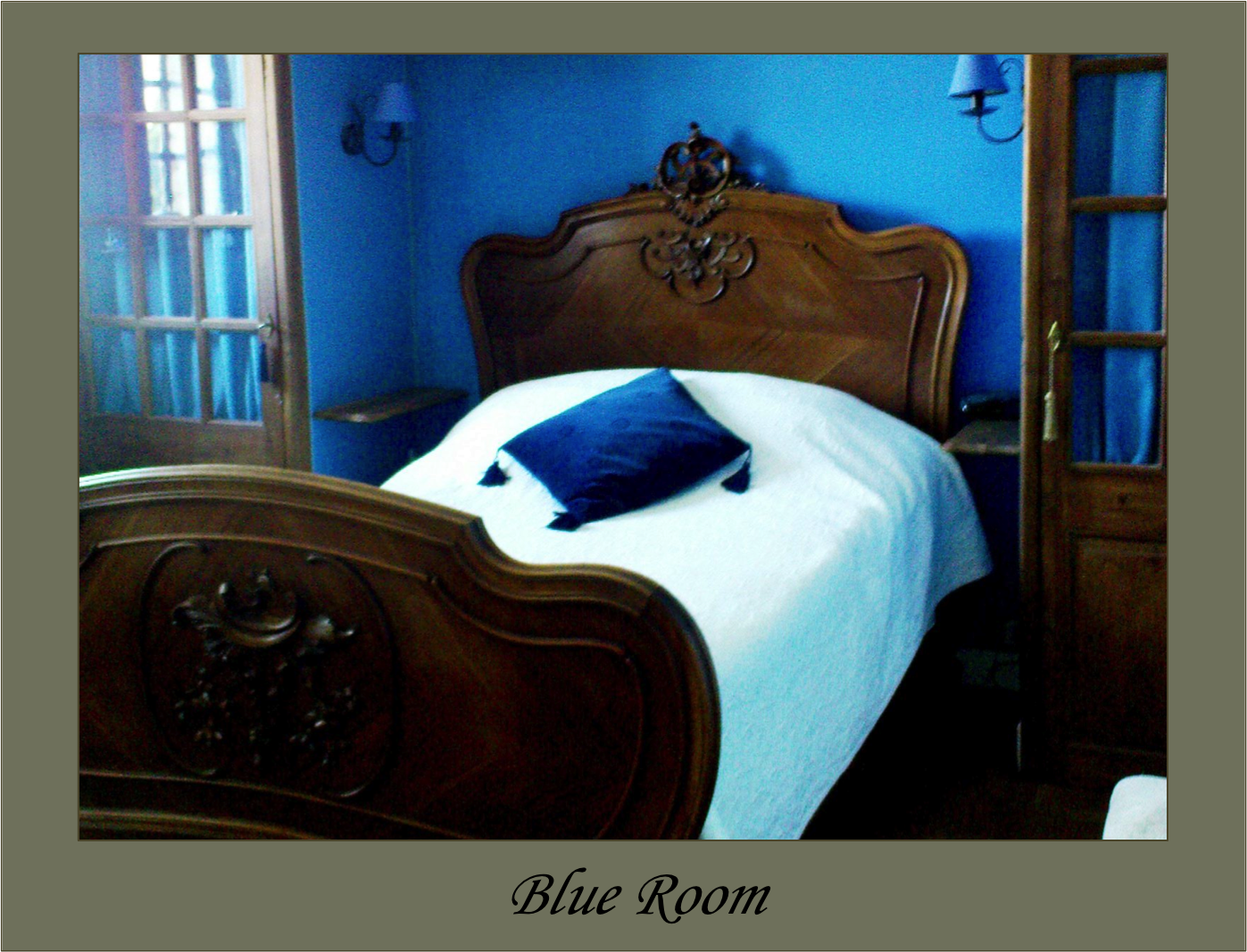 Blue Room Limoges Bu0026B La Croix Du Reh Chambres Dhotes France Limousin ...