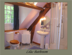 Lilac Bathroom Limoges B&B La Croix Du Reh Chambres Dhotes France Limousin Holiday Accommodation Bed and Breakfast Gites de France Holiday Home Hotel Hostel Vacation Rentals