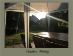 Outdoor Dining B&B Bed and Breakfast Limoges Limousin Holiday Accommodation Hostel France La croix du Reh Chateauneuf La Foret