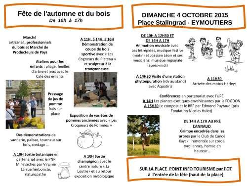 Programme Fête Automne Bois  Eymoutiers 4 octobre 2015 _Page_1